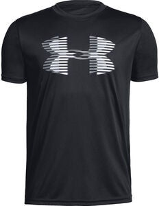 Under Armour Tech Big Logo Solid Tee, Black