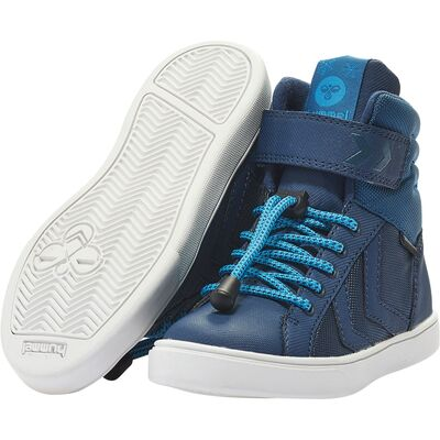 Hummel Splash Poly Jr Sneaker, Blue Wing Teal