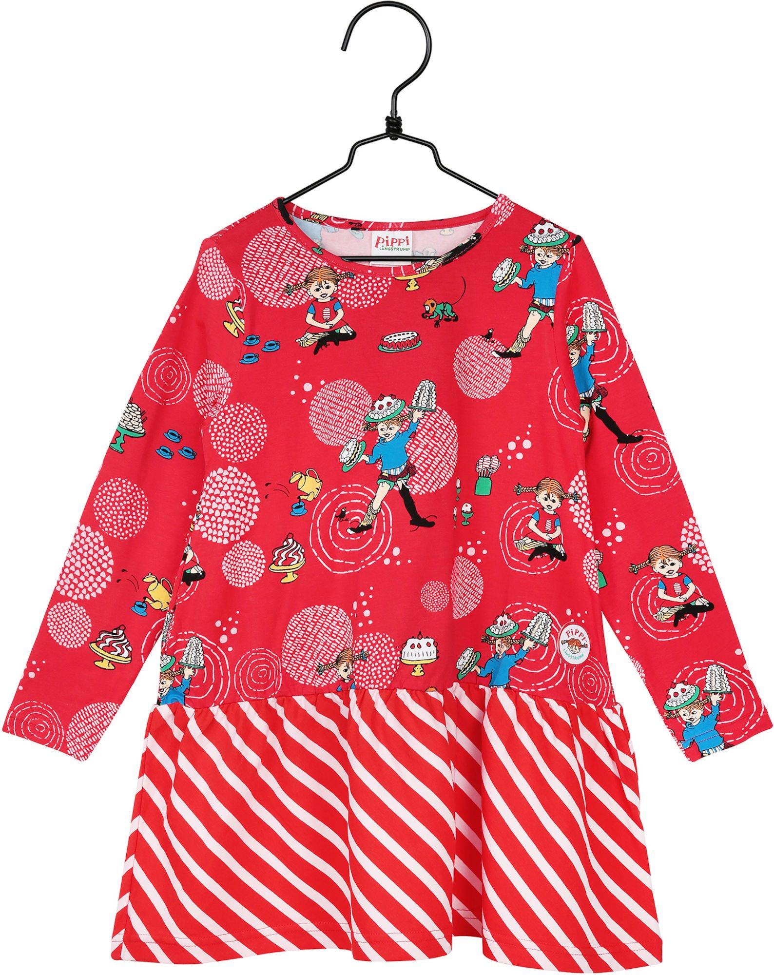Kjøp Pippi Langstrømpe Kjole Mums, Rosa | Jollyroom