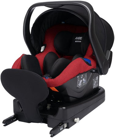 Axkid Modukid Infant Babybilstol Inkl. Base, Red
