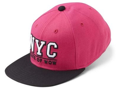 State Of Wow Toronto 2 Youth Snapback Cap, Dk Pink/Black