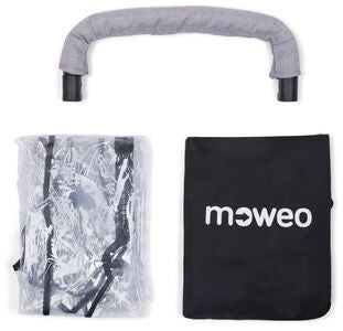 Moweo Aerius Single Accessory Pack, Grey Melange