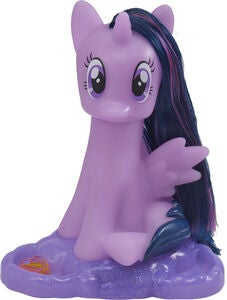 My Little Pony Stylinghode Hest Twilight Sparkle med Lys