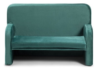 Alice & Fox Velvet Sofa, Grønn