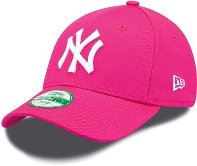 New Era 9Forty Kids MLB League Basic Cap, Rosa