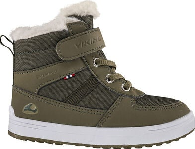 Viking Lukas WP Vintersko, Khaki/Hunting green