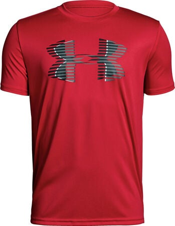 Under Armour Tech Big Logo Solid Tee Treningstrøye, Red
