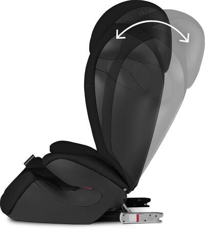 Cybex Solution M-Fix Beltestol, Pure Black