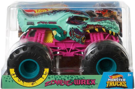 Hot Wheels Monster Trucks Zombie-Wrex 1:24
