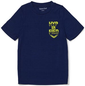 Hyperfied Neo Logo T-Shirt, Medieval Blue