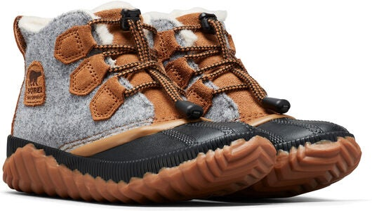 Sorel Youth Out N About Plus Støvel, Quarry/Camel Brown
