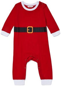 Luca & Lola Jumpsuit Santababy, Red