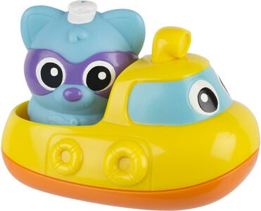 PlayGro Rainy Racoon's Musical Submarine Badeleke