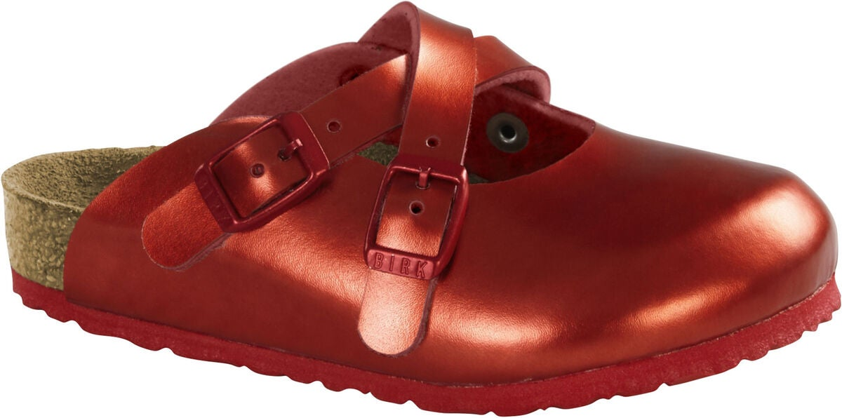 Birkenstock Dorian Kids Sandaler, Metallic Red