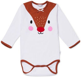 Luca & Lola Body Oh Deer, White
