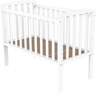 BabyDan Bedside Crib Sofie by My Side, Hvit