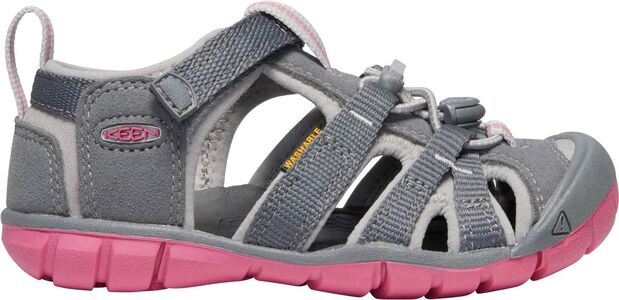 KEEN Seacamp II CNX Sandal, Steel Grey/Rapture Rose