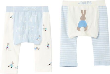 Tom Joule Lively Leggings 2-pack, Multi Peter Rabbit
