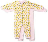 Tiny Treasure Maxime Jumpsuit  2-Pack, Pink