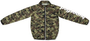 Hyperfied Lightning Jacket, Camo Green