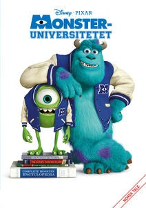 Disney Pixar Monsteruniversitetet DVD