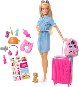 Barbie Travel Dukke Lead