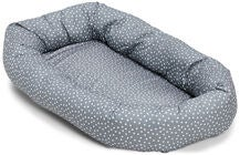 Alice & Fox Babynest Stars, Grey