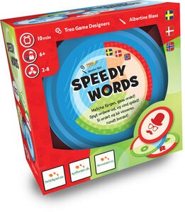 Speedy Words Familiespill