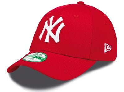 New Era MLB 9Forty Kids League Basic Caps, Scarlett