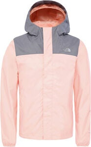 The North Face Resolve Reflective Jakke, Pink Salt