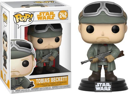 POP! Star Wars Samlefigur Tobias Beckett Med Briller
