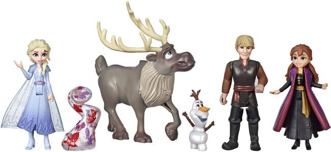 Disney Frozen 2 Adventure Collection Figurer 5-pack