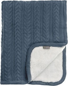 Vinter & Bloom Teppe Cuddly, Storm Blue
