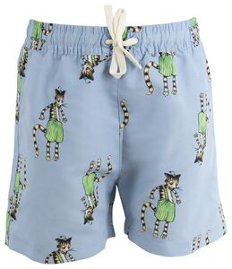 Gubben & Katten Badeshorts, Light Blue