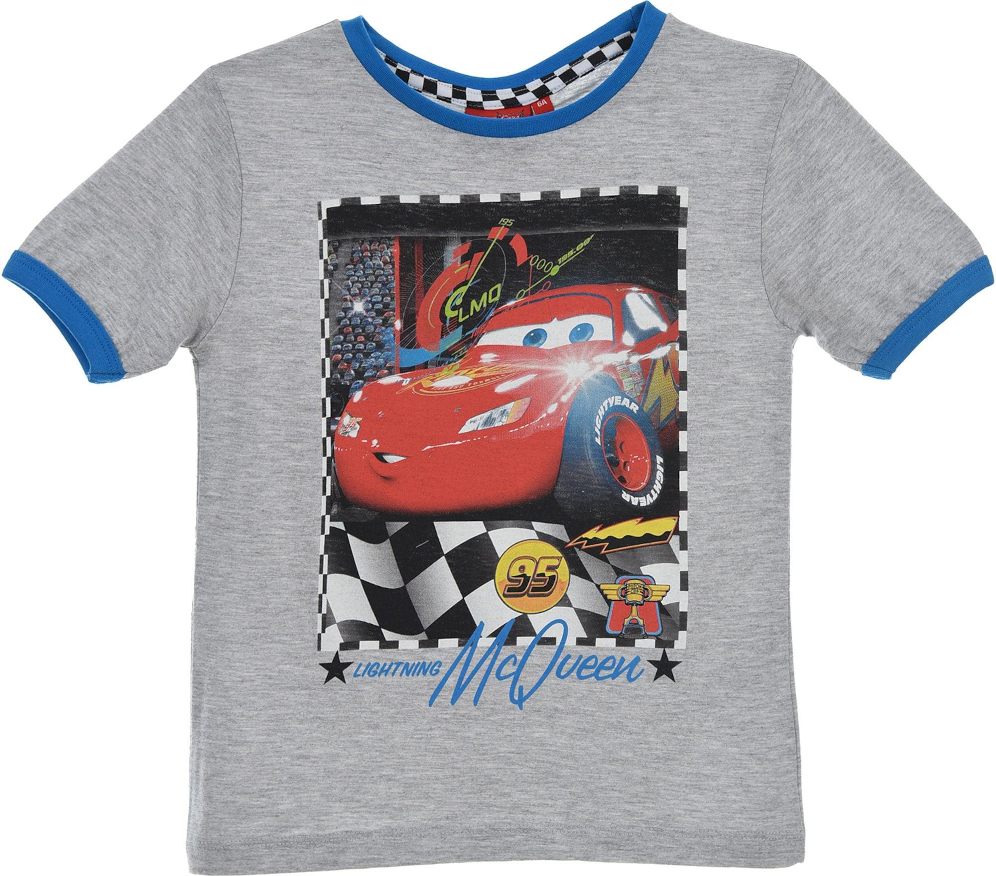 Kjøp Disney Cars T Shirt, Lysegrå | Jollyroom