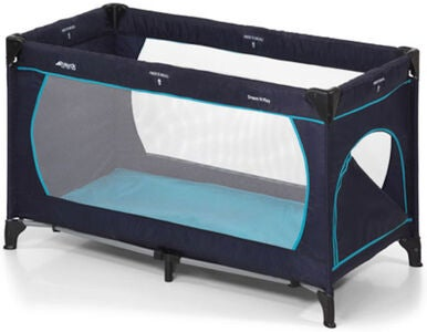 Hauck Dream'n Play Plus Reiseseng, Navy/Aqua