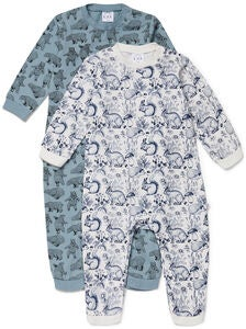 Luca & Lola Maxime Jumpsuit 2-pack, White