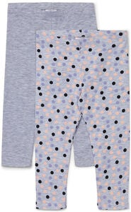 Luca & Lola Alberta Leggings 2-pack, Grey Melange