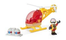 BRIO World 33797 Brannhelikopter