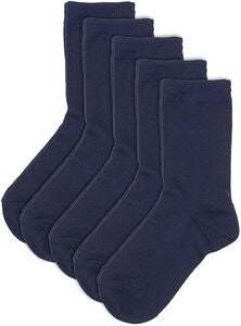 Pierre Robert Eco Basic Sokker 5-pack, Navy
