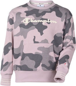 Champion Kids Crewneck Genser, Violet Ice