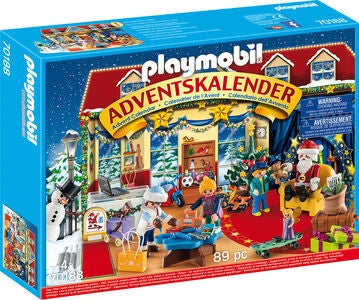 Playmobil Adventskalender Jul I Lekebutikken