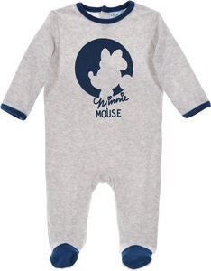 Disney Minni Mus Pyjamas, Light Grey