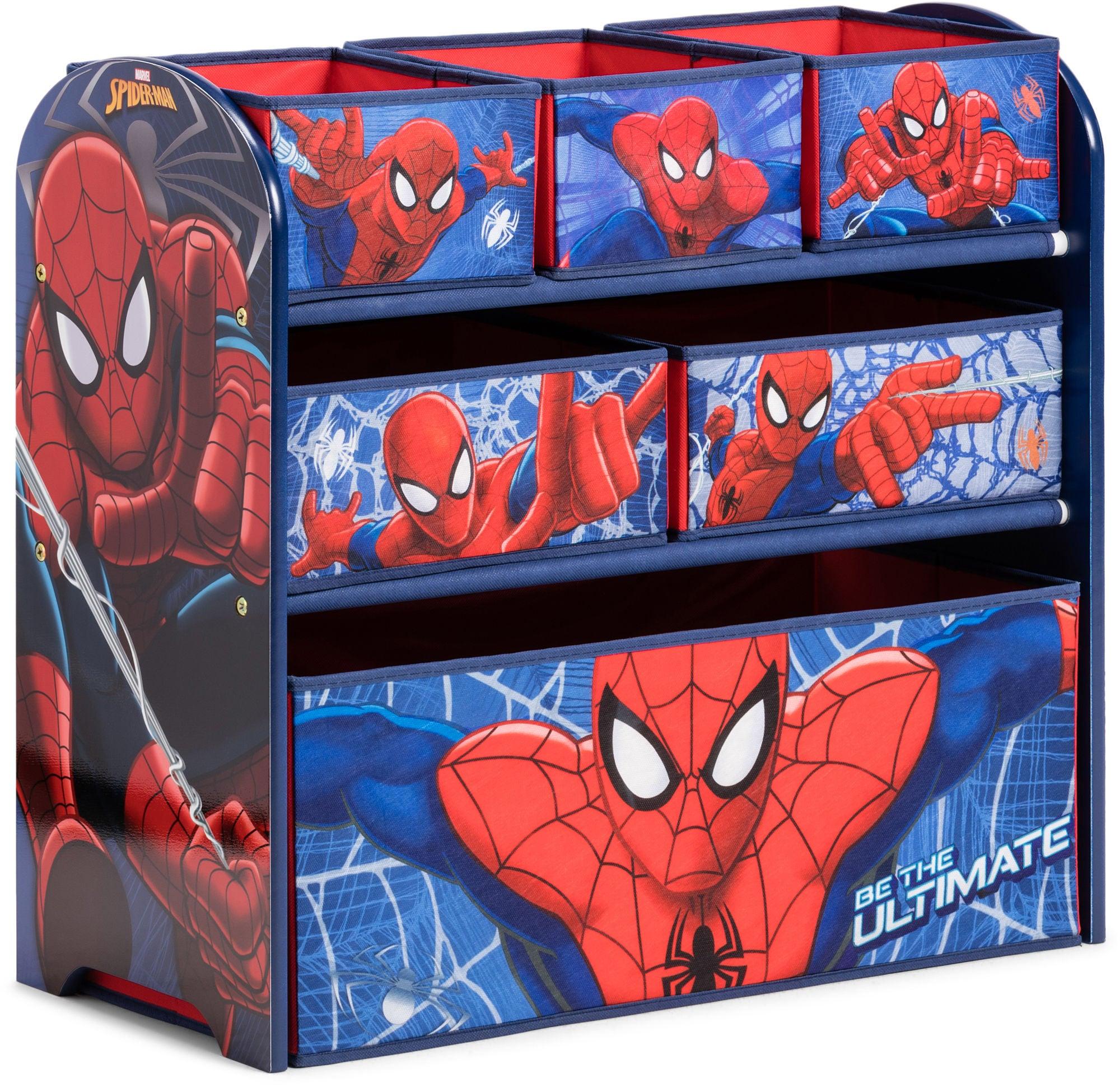Spiderman Oppbevaringshylle 6 Esker Tre