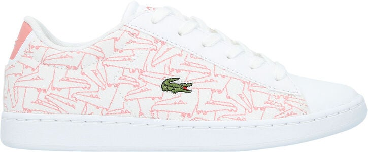 Lacoste Carnaby Evo 318 Sneaker, White/Pink