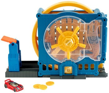 Hot Wheels City Lekesett Super Bank Blast-Out