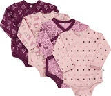 Pippi 4-Pack Body, Lilac