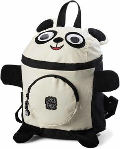 Pick & Pack Ryggsekk Panda, Black