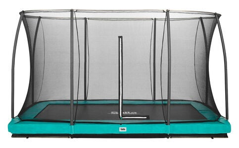 Salta Trampoline Comfort Edition Ground 244x366 Cm, Grønn