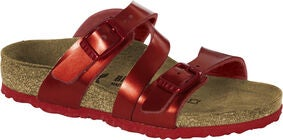 Birkenstock Salina Kids Sandaler, Metallic Red